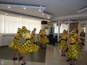 старшая группа хореографического отделения