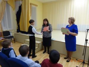 Виноградов Павел, диплом 3 степени в старшей группе